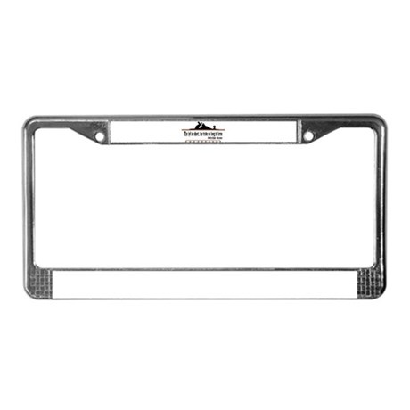 The lyf so short License Plate Frame
