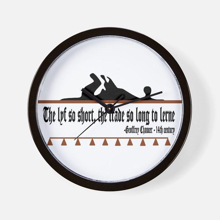 The lyf so short Wall Clock