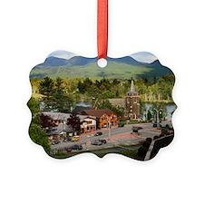 LakePlacidS Mini poster Ornament