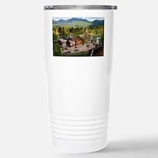LakePlacidS Mini poster Stainless Steel Travel Mug