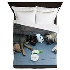 When We Help Each Other We Help Oursel Queen Duvet