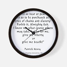 p_h_give_me_liberty_full Wall Clock