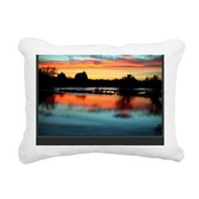 I Am Grateful print Rectangular Canvas Pillow