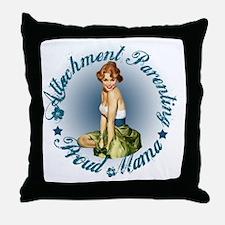 Breastfeeding Mama3 Throw Pillow