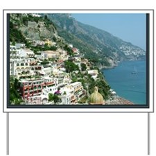 I Visualize What I Want Positano Italy p Yard Sign