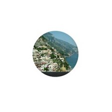 I Visualize What I Want Positano Italy Mini Button