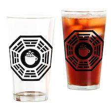 dharma coffee station Drinking Glass