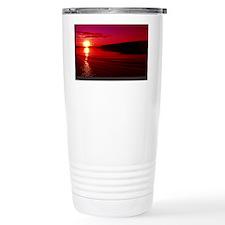 I Love Life print Travel Mug