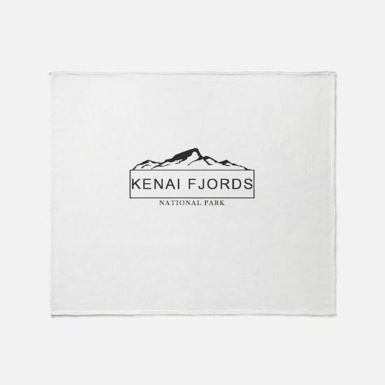 Kenai Fjords - Alaska Throw Blanket