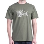 Jesse's Tree Fish Dark T-Shirt