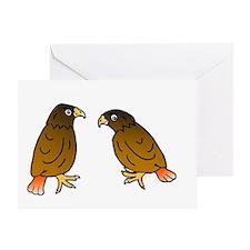 2-almost final hawks Greeting Card