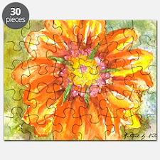 Orange Daisy Puzzle