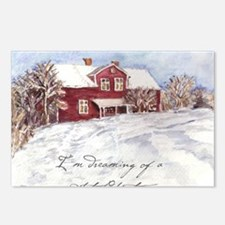 Red House Postcards (Package of 8)