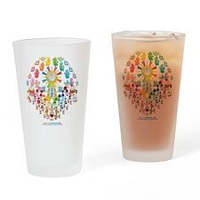 2011 Kawaii Happy New Year Cafe Drinking Glass