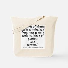 t_j_tree_liberty Tote Bag
