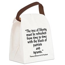 t_j_tree_liberty Canvas Lunch Bag
