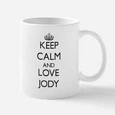 Keep Calm and Love Jody Mugs