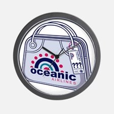Oceanic02_10x10W Wall Clock