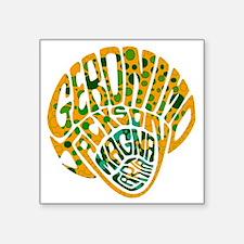 "GeronimoJackson05_10x10W Square Sticker 3"" x 3"""