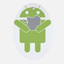 android_nom Oval Ornament