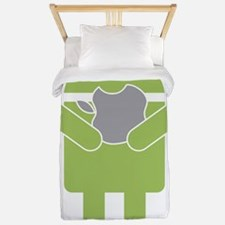android_nom Twin Duvet