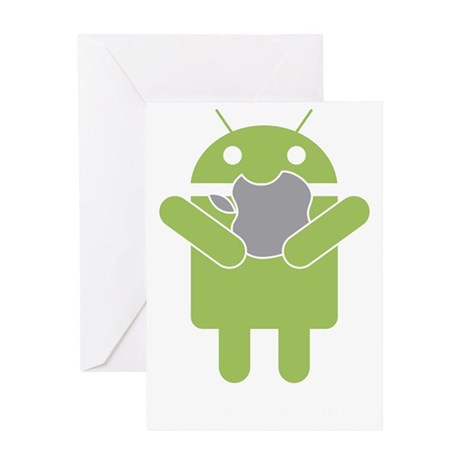 android_nom Greeting Card