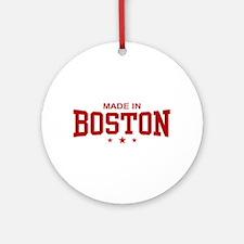 Made in Boston Ornament (Round)