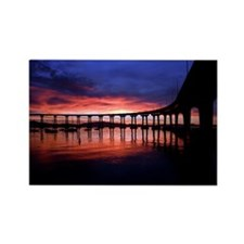 Coronado_Bridge_Sunrise Rectangle Magnet