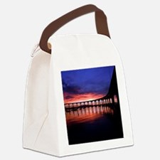 Coronado_Bridge_Sunrise Canvas Lunch Bag