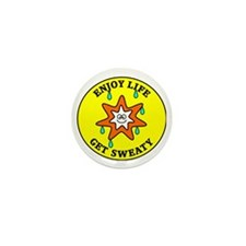 sweaty2 Mini Button