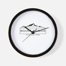 Mount Rainier - Washington Wall Clock