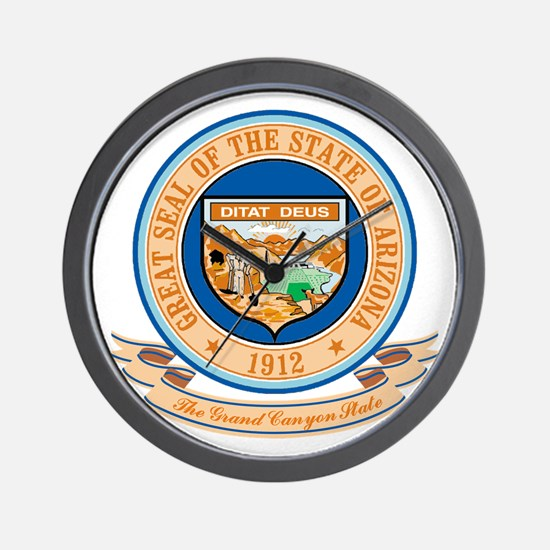Arizona Seal Wall Clock