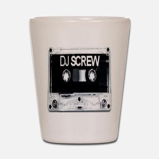 screw tape Shot Glass