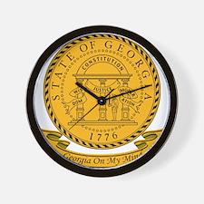 Georgia Seal Wall Clock