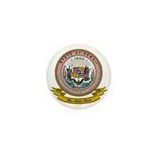 Hawaii Seal Mini Button