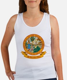 Florida Seal Women's Tank Top