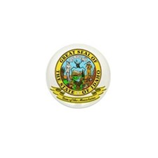 Idaho Seal Mini Button