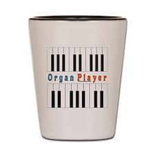 2010 Organ Player Shot Glass