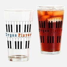 2010 Organ Player Drinking Glass