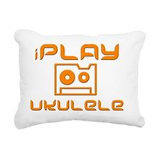 retro iPlay Ukulele Uke Rectangular Canvas Pillow
