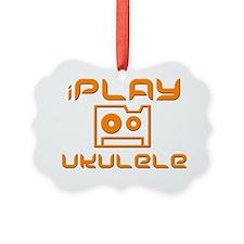 retro iPlay Ukulele Uke Ornament