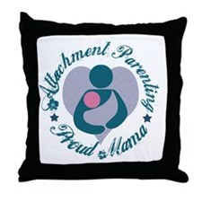 Attachment Mama3 Throw Pillow