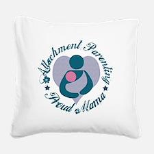 Attachment Mama3 Square Canvas Pillow