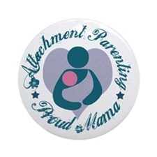 Attachment Mama3 Round Ornament