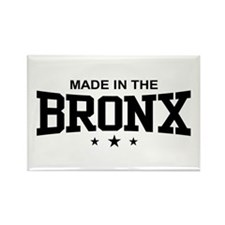 Made in the Bronx Rectangle Magnet