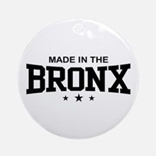 Made in the Bronx Ornament (Round)
