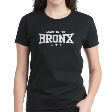 Made in the Bronx Women's Dark T-Shirt