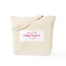 """""""brennan loves me"""" Tote Bag"""