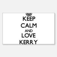 Keep Calm and Love Kerry Decal