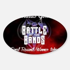 BattleShirt1 Sticker (Oval)